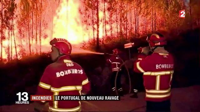 Le Portugal lutte contre trois incendies simultanés