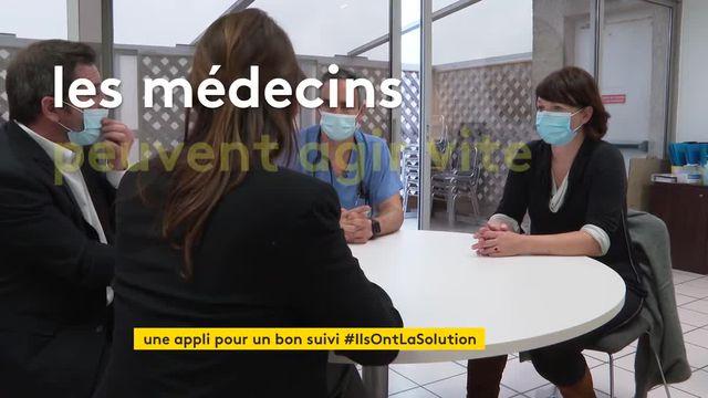 """""""Domicovid"""" : une application pour suivre les personnes vaccinées contre le Covid"""
