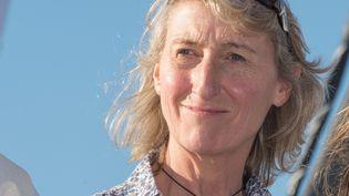 Catherine Chabaud, navigatrice. (MAXPPP)