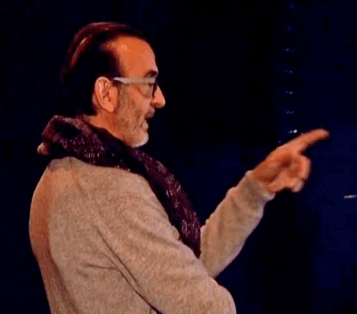 Robin Renucci lors des dernières répétitions du Faiseur  (France 3 / Culturebox)