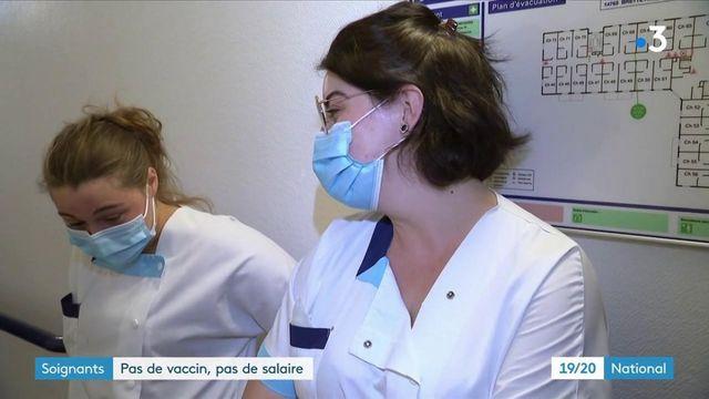 Vaccination obligatoire des soignants : l'annonce de Macron divise
