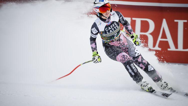 La Liechtensteinoise Tina Weirather (ANDERS WIKLUND / TT NEWS AGENCY)