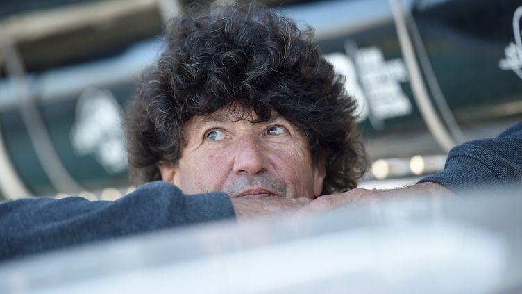 Jean Le Cam, un brin rêveur (JEAN-SEBASTIEN EVRARD / AFP)