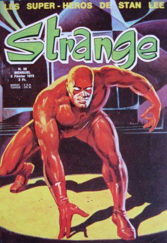 Un numéro de Strange en février 1973  (DR)