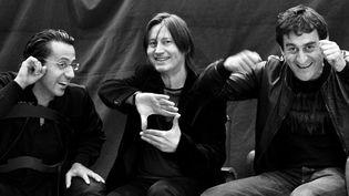 Bruno Angelini, Thierry Péala et Francesco Bearzatti  (Niko Rodamel)