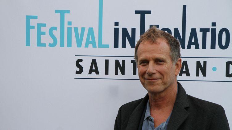 Charles Berling au festival du Film de Saint-Jean-de-Luz (Pyrénées-Atlantiques), en octobre 2018. (FRÉDÉRIC FLEUROT / FRANCE-BLEU PAYS BASQUE)