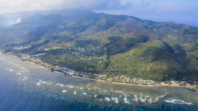 Vue aérienne de Wallis et Futuna, dans le Pacifique. (MICHAEL RUNKEL / ROBERT HARDING PREMIUM / AFP)