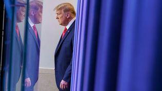 Le président américain, Donald Trump, à la Maison Blanche, à Washington, le 24 novembre 2020. (MANDEL NGAN / AFP)