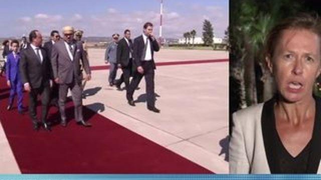"""Une visite """"de travail et d'amitié"""" pour François Hollande au Maroc"""