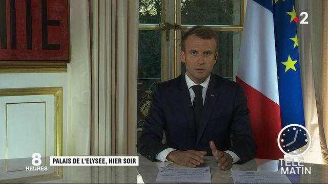 """Allocution d'Emmanuel Macron : """"le président a clairement refusé de changer de politique"""""""