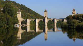Monument emblématique de la ville de Cahors (Lot), le pont Valentré est également surnommé pont du diable. Découverte. (HAUSER PATRICE / HEMIS.FR)