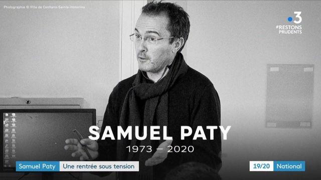 Samuel Paty : l'hommage raccourci en raison de la pandémie