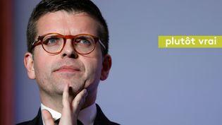 Luc Carvounas, sénateur-maire PS, en novembre 2016, àAlfortville (Val-de-Marne). (THOMAS SAMSON / AFP)
