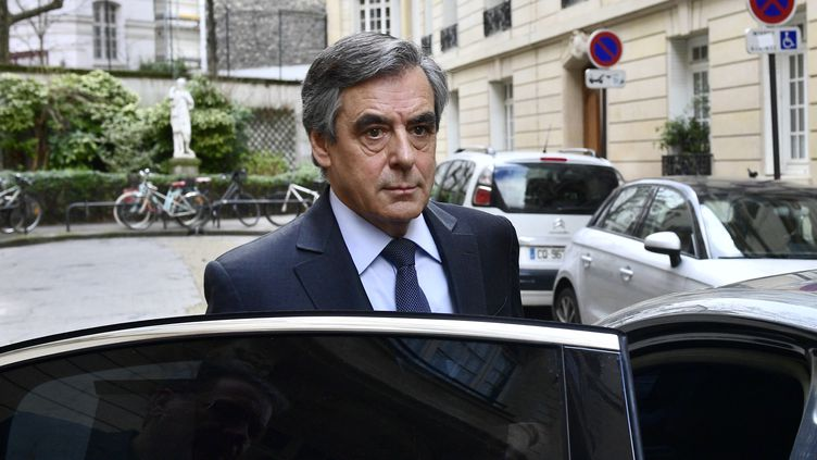 François Fillon à Paris, le 24 février 2020. (MARTIN BUREAU / AFP)