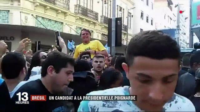 Brésil : un candidat à la présidentielle poignardé