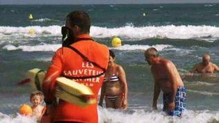 Depuis vendredi 26 juillet 2013, neuf personnes ont trouvé la mort par noyade sur les plages de l'Hérault. (FRANCE 3 LANGUEDOC ROUSSILLON / FRANCETV INFO )