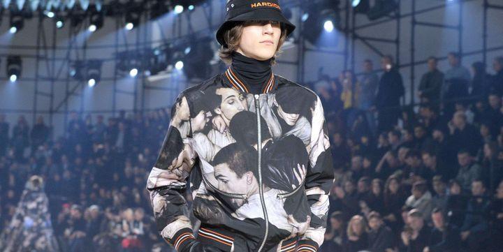 Dior pap ah 2017-18, à Paris, janvier 2017....  ( Swan Gallet/WWD/Shutter/SIPA)