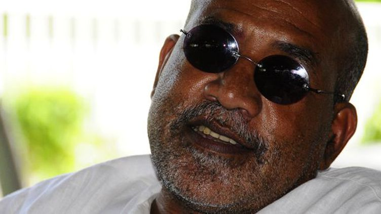 Patrick Chamoiseau à Cayenne (Guyane) le 16 décembre 2011  (Eric Pasquier)