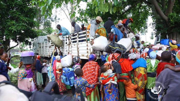 Le 16 mars 2020, les premiers expulsés quittent Goma en RDC, destination le Burundi. (Présidence de la République démocratique du Congo)