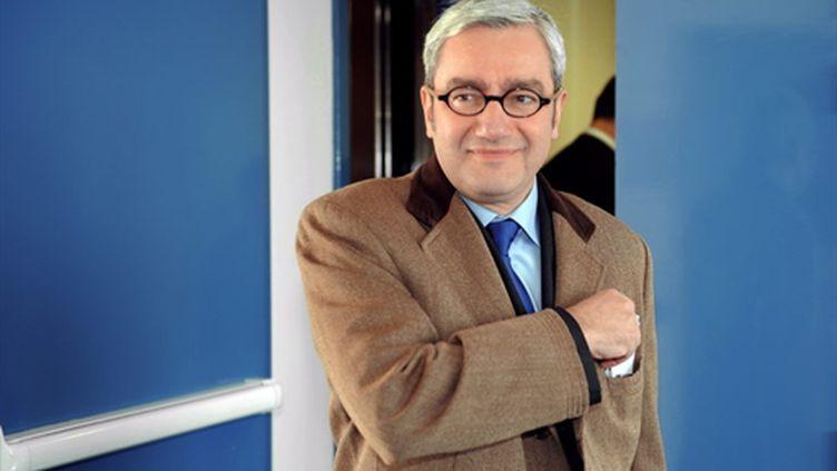 Emmanuel Hoog, nouveau patron de l'AFP (15 avril 2010) (AFP/JOHANNA LEGUERRE)