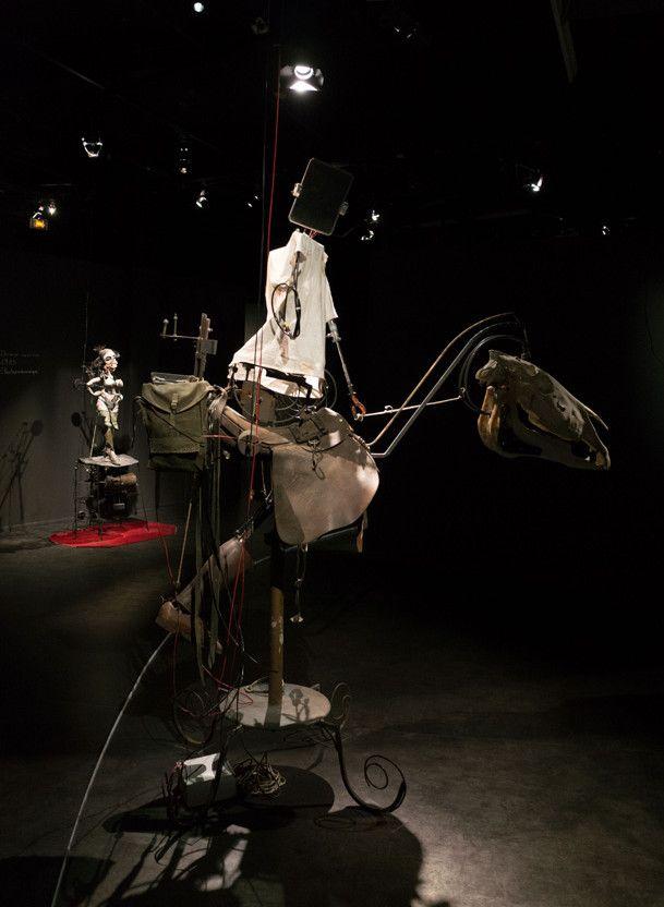 Bête-machine, l'une des machines extraordinaires de Gilbert Peyre  (G.Peyre / KT Suzuki)