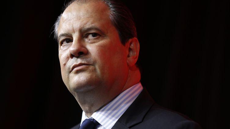 Jean-Christophe Cambadélis, le premier scerétaire du PS, le 20 juin 2015, à Paris. (THOMAS SAMSON / AFP)
