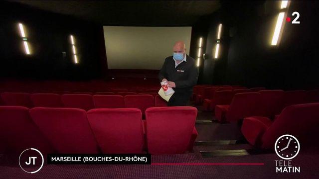 Culture: les cinémas s'activent pour accueillir le public après six mois de fermeture
