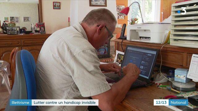 Lutte contre l'illettrisme : portrait de Patrick, 63 ans, qui a surpassé son handicap