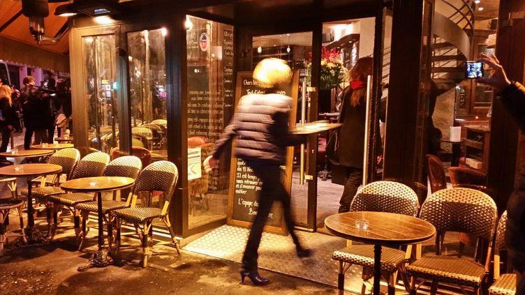 (La brasserie la Bonne bière à Paris ressert ses premiers cafés ©Radio France/Mathilde Lemaire)