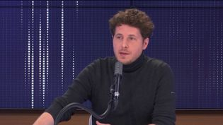 Julien Bayou, secrétaire national d'Europe Écologie-Les Verts. (FRANCEINFO / RADIO FRANCE)