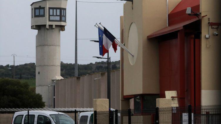 La prison de Perpignan dans les Pyrénées-Orientales, le 17 mars 2020 (photo d'illustration) (RAYMOND ROIG / AFP)