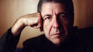 Leonard Cohen prise en photo en novembre 1992 (INGVAR SVENSSON / SVD  / TT NEWS AGENCY / AFP)