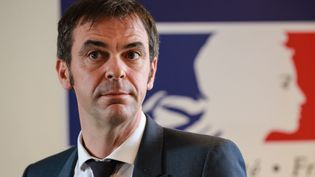 Olivier Véran, à Paris, le 18 février 2020. (LUDOVIC MARIN / AFP)