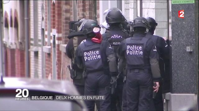 Opérations antiterroristes à Bruxelles : deux hommes en fuite
