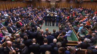 La Chambre des communes, le 10 septembre 2019 à Londres (Royaume-Uni). (PRU / AFP)