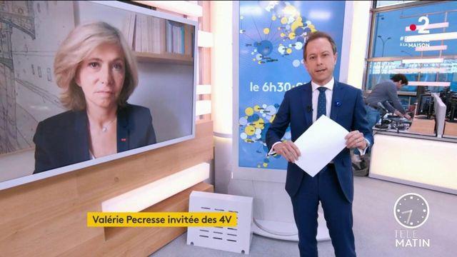 """Valérie Pécresse : """"la région Île-de-France va distribuer deux millions de masques"""""""