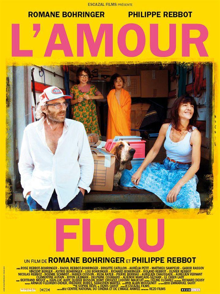 """""""L'Amour flou"""" : l'affiche  (Rezo Films)"""
