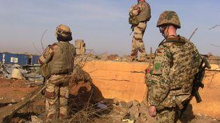 Des soldats de la force Barkhane, à Gao au Mali (- / AFP)