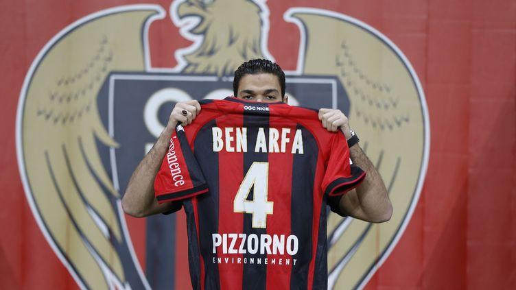A Nice, Hatem Ben Arfa portera le numéro 4. (VALERY HACHE / AFP)