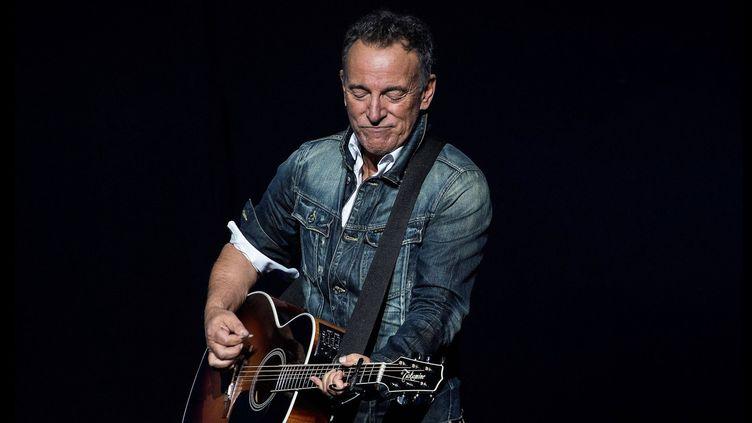 Bruce Springsteen le 5 novembre 2018 à New York.  (Debra L Rothenberg/REX/Shutterstock/Sipa)