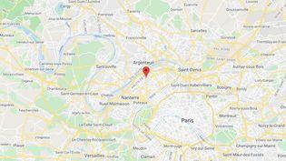 Colombes, dans les Hauts-de-Seine (illustration). (GOOGLE MAPS)