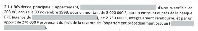 Capture d'écran de la déclaration de François Asselineau. (CAPTURE D'ECRAN / FRANCE INFO)