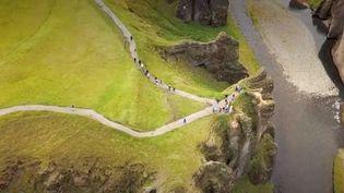 L'Islande, nouvelle destination touristique à la mode (Capture d'écran)