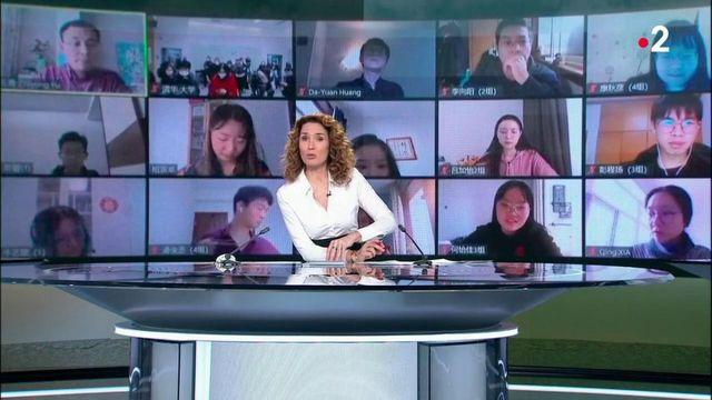 Covid-19 : en Chine, l'enseignent se fait à distance