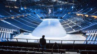 L'AccorHotels Arena à Paris en 2015. (CHRISTOPHE MORIN / MAXPPP)