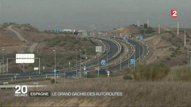 Espagne : le grand gâchis des autoroutes