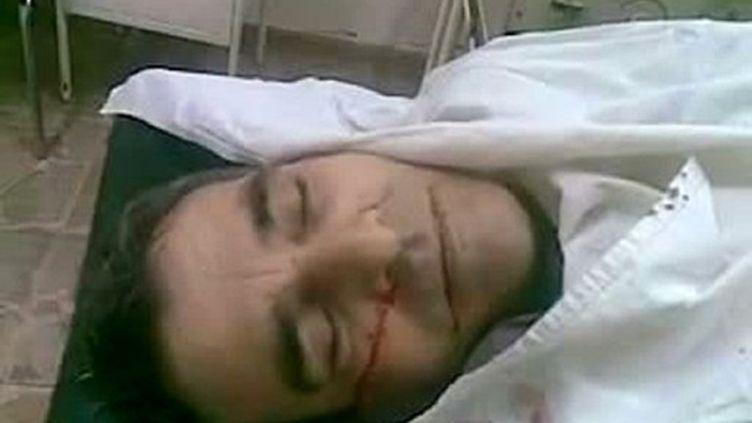 Mechaal Tamo, chef de l'opposition kurde, a été assassiné vendredi. Ses funérailles ont tourné à la manifestation. (AFP / Youtube)