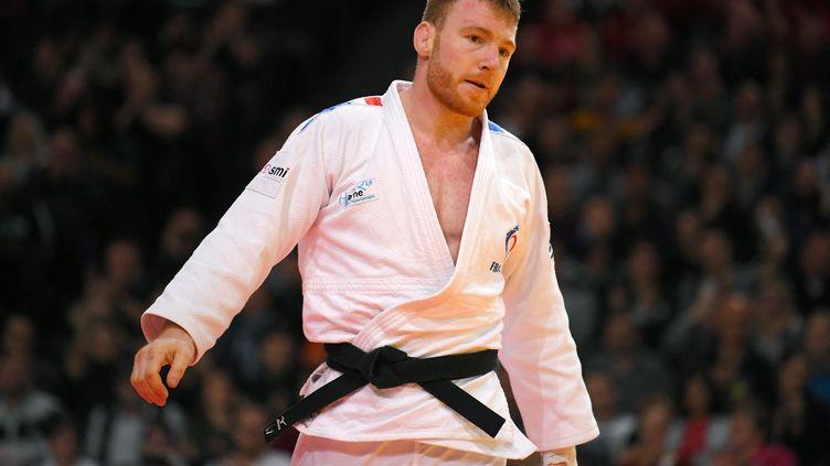 Axel Clerget lors du Paris Grand Slam ( 9 février 2020). (PHILIPPE MILLEREAU / KMSP)