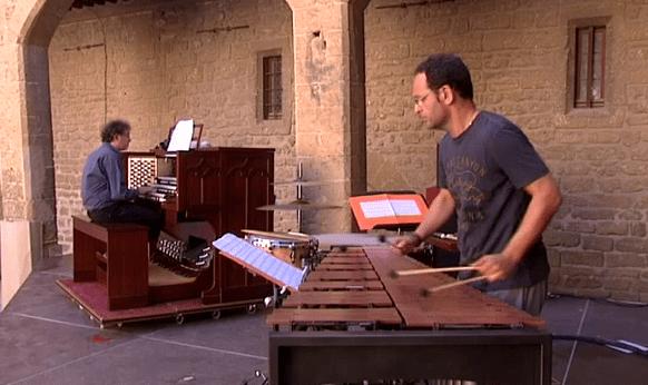 Musique contemporaine au château de l'Empéri à Salon-de-Provence  (France 3)