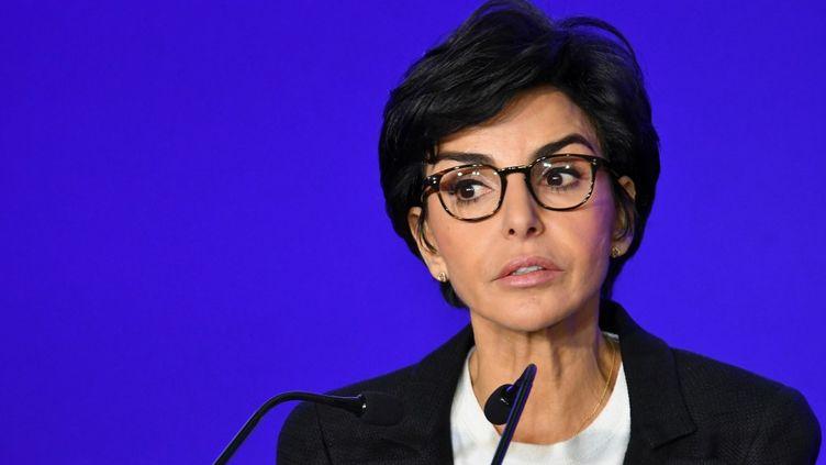 Rachida Dati, candidate LR à la mairie de Paris, le 18 novembre 2019. (DANIEL PIER / NURPHOTO)